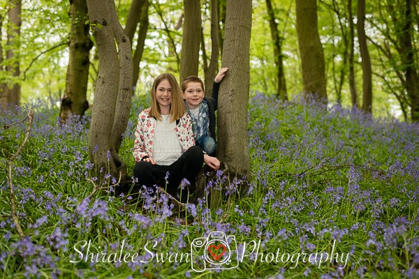 Secret Bluebell woodland in Billericay