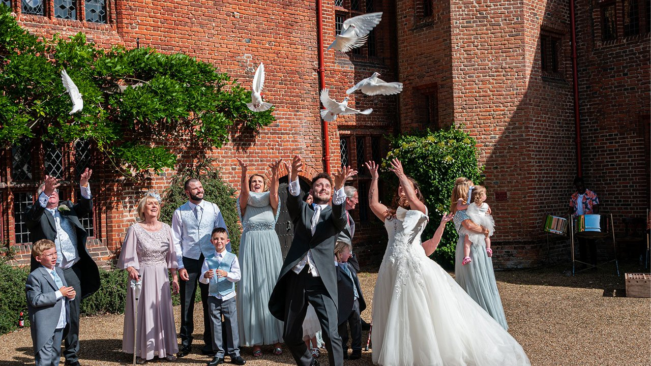 Beautiful Dove Release at Ingatestone Hall